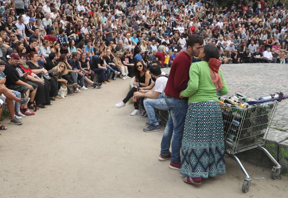 Roma Couple In Berlin