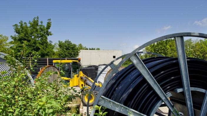 Blockheizkraftwerk - Baustillstand Vaterstetten