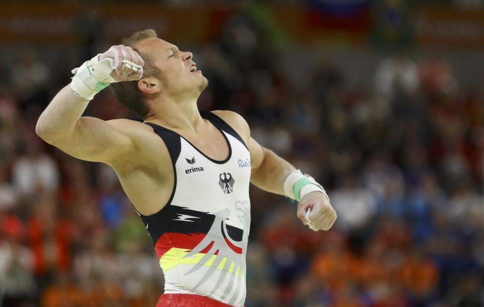 2016 Rio Olympics - Artistic Gymnastics - Men's Horizontal Bar Final