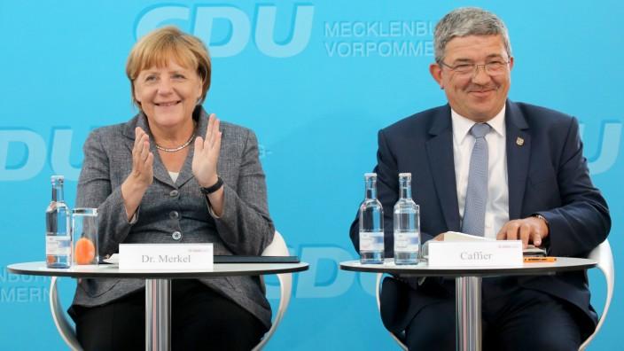 Merkel bei CDU-Wahlkampfveranstaltung