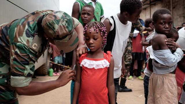 Gelbfieber  in Angola