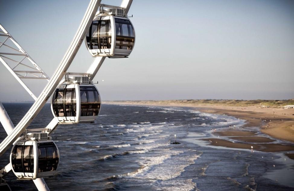 New Ferris Wheel at Scheveningen Pier