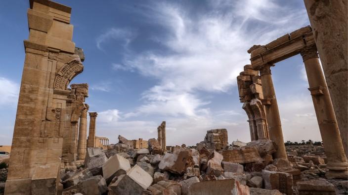 Ruinen von Palmyra, Syrien