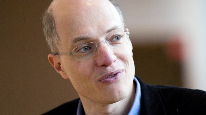 April 29 2014 Toronto ON Canada TORONTO ON APRIL 29 British philosopher Alain de Botton