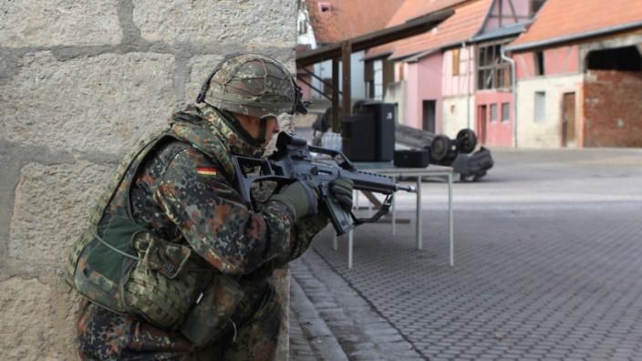Bundeswehr übt Häuserkampf