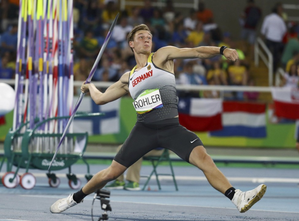 Athletics - Men's Javelin Throw Qualifying Round - Group A