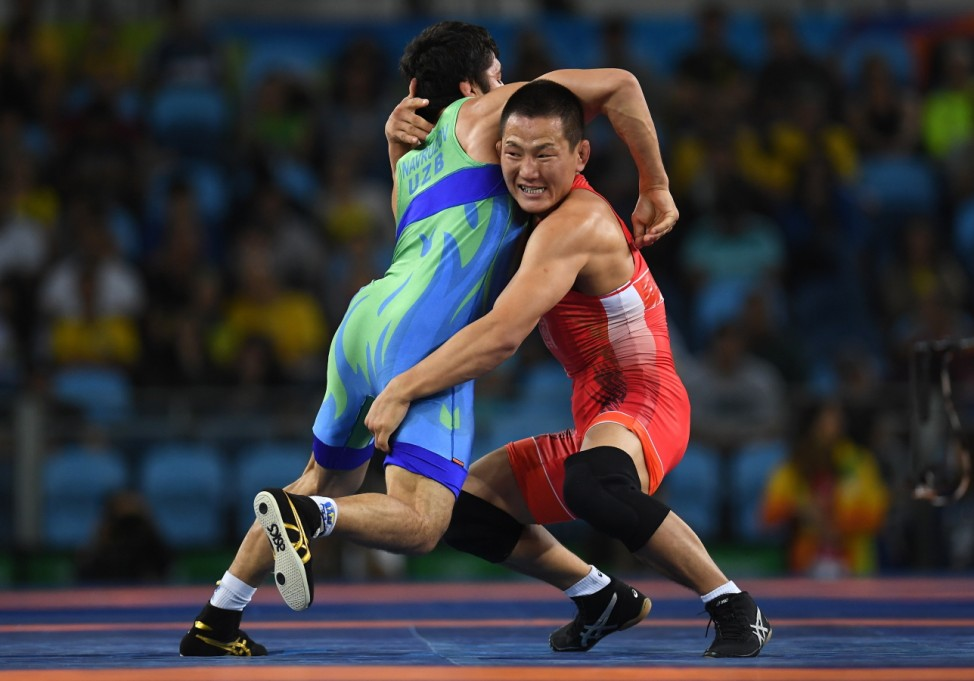 Wrestling - Olympics: Day 16