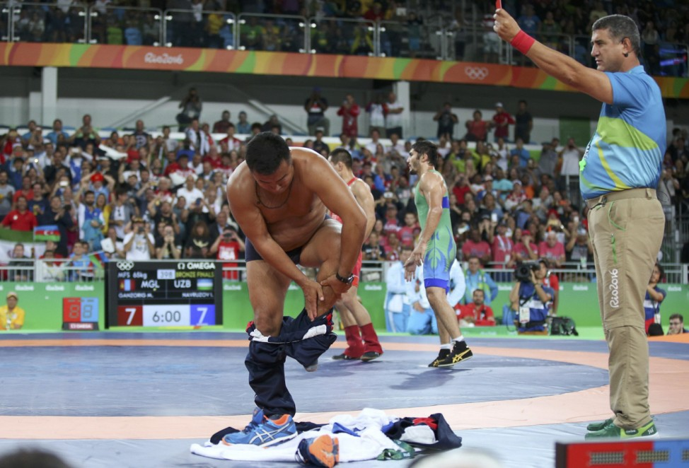Wrestling - Men's Freestyle 65 kg Bronze