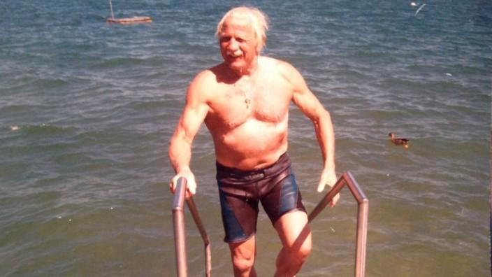Schwimmen: Franz Wiesholler, Chieming
