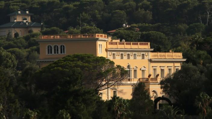 """Immobilien: Die Villa """"Les Cèdres"""" steht zum Verkauf."""