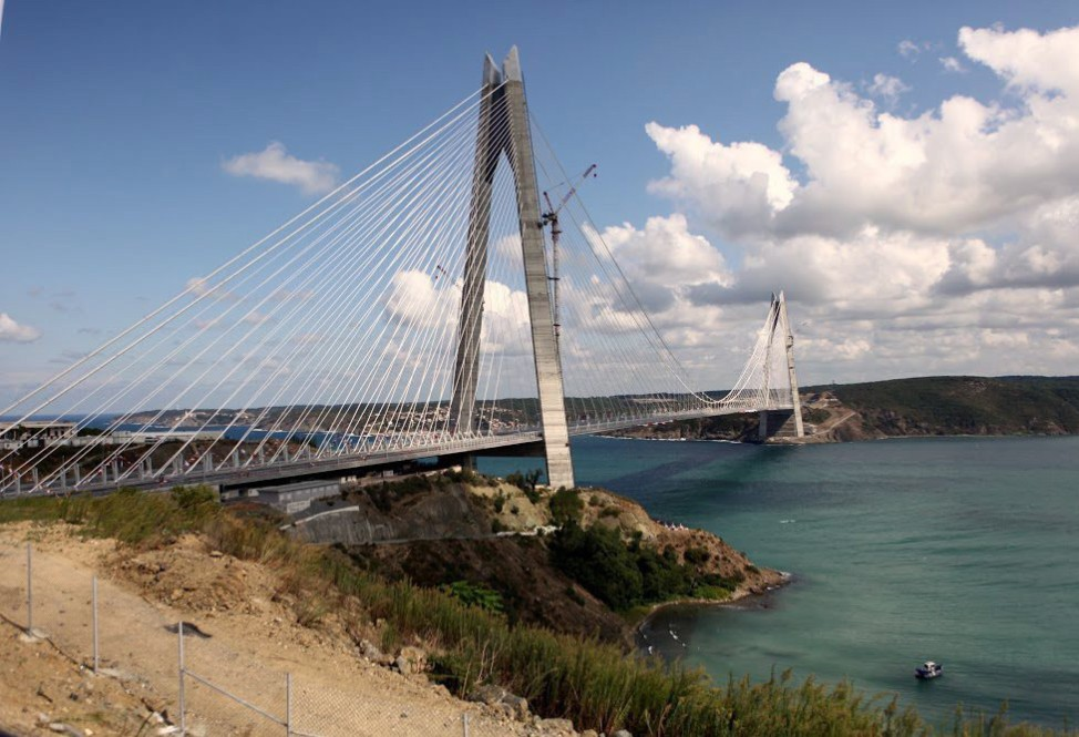 Opening of third Bosporus bridge in Istanbul