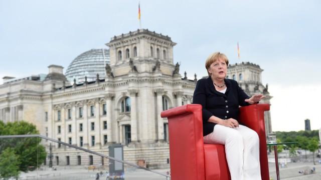 Merkel im Sommerinterview der ARD
