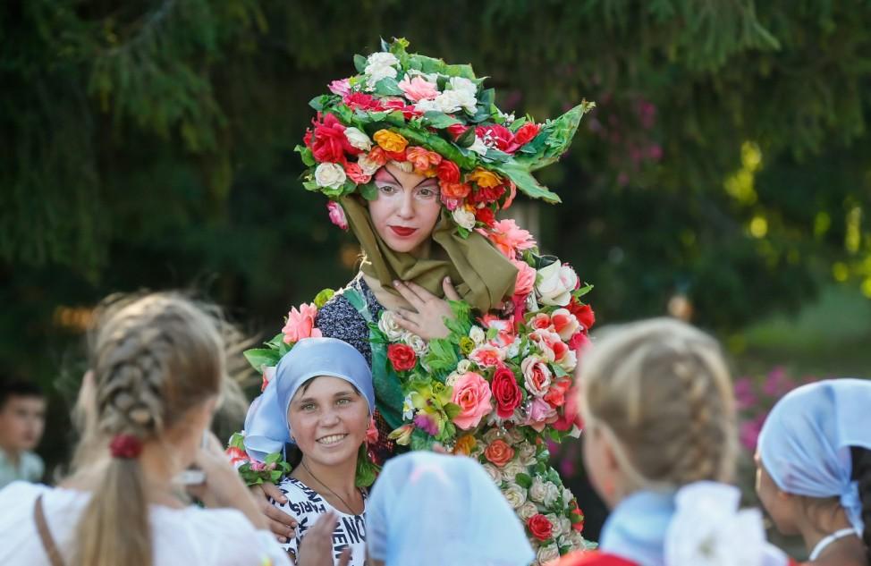 Annual Flower Show in Kiev
