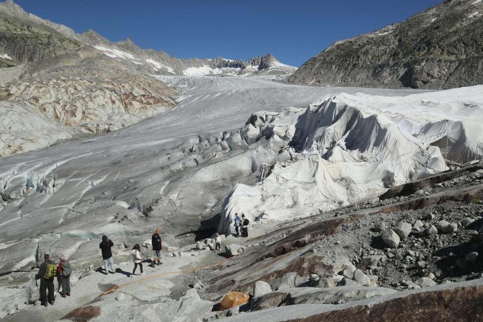 Europe's Melting Glaciers: Rhone