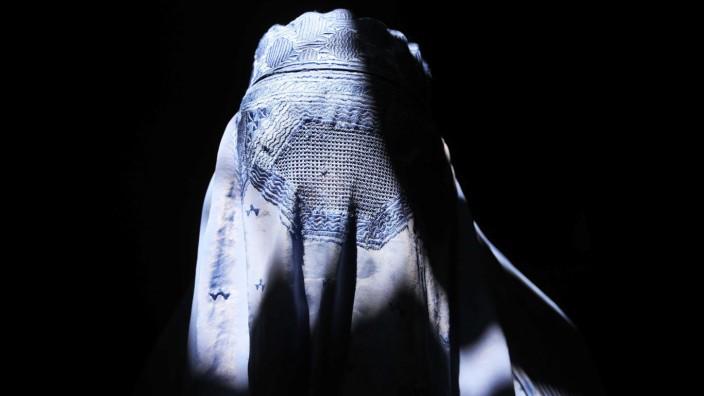 Frauen in Burka in Afghanistan