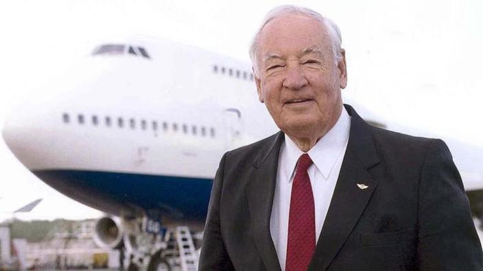 Boeing 747-Erfinder Joe Sutter