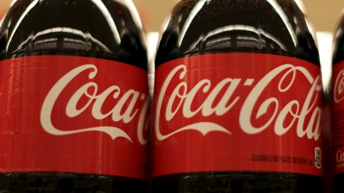 File photo of Bottles of Coca-Cola at the Safeway store in Wheaton Maryland