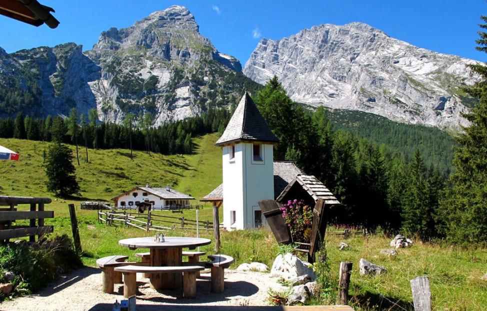 Berchtesgaden Kührointalm St. Bernhard Watzmann