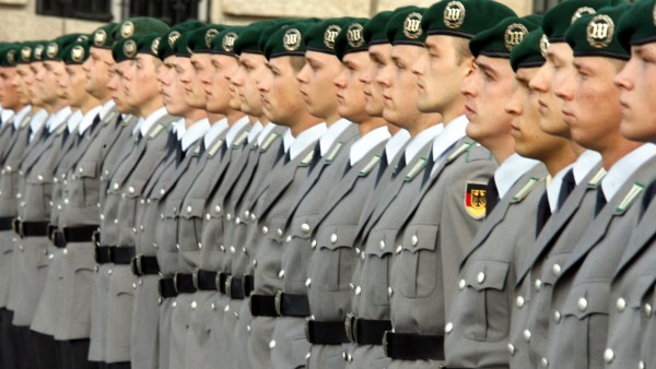 Soldaten bei der Bundeswehr