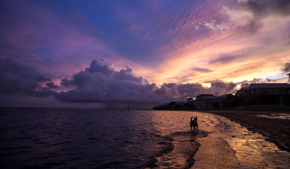 Florida Gulf Coast Prepares For Tropical Storm Hermine
