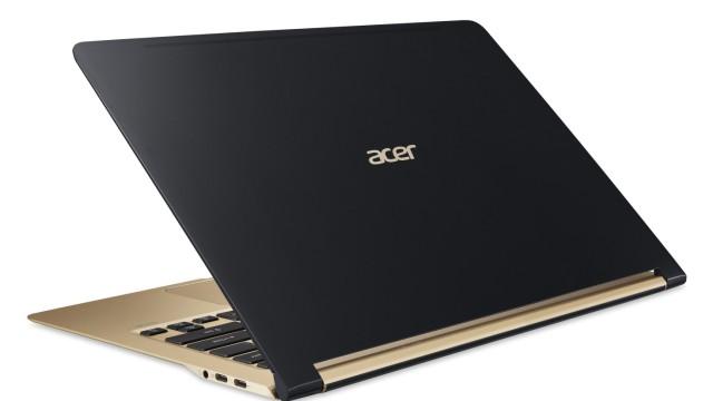 Dünner als ein Zentimeter: Acer zeigt superschlankes Notebook