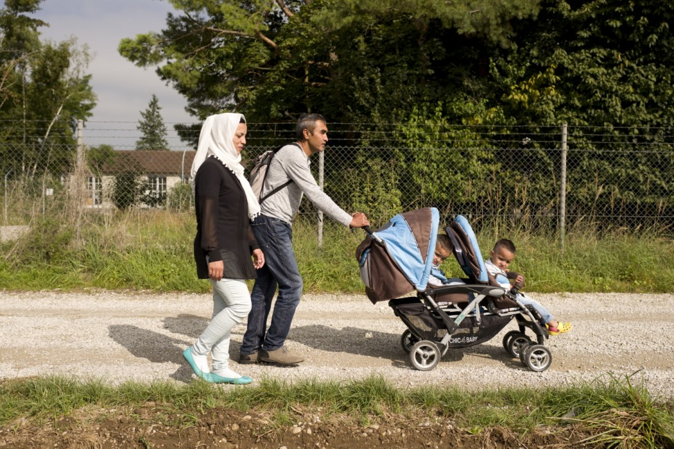 Bruck: Flüchtlingsfamilie Gulam SARVAR / Afghanistan / Langzeitstudie