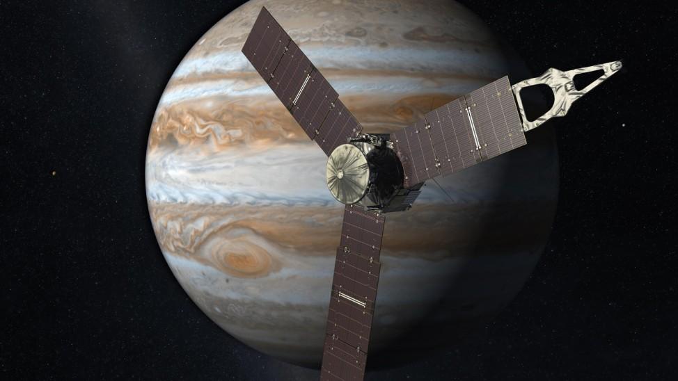 Neue Bilder vom Planeten Jupiter