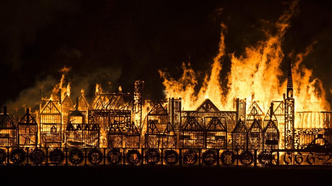 великий лондонский пожар картинка современном обществе перестали