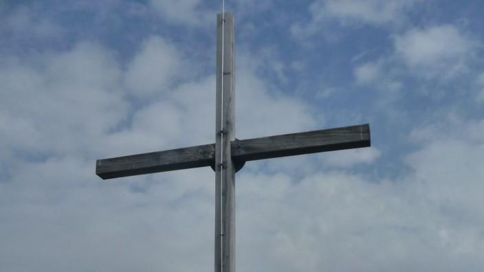 Gipfelkreuz auf dem Schafreiter