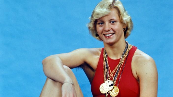 Kornelia Ender 1976 Montreal