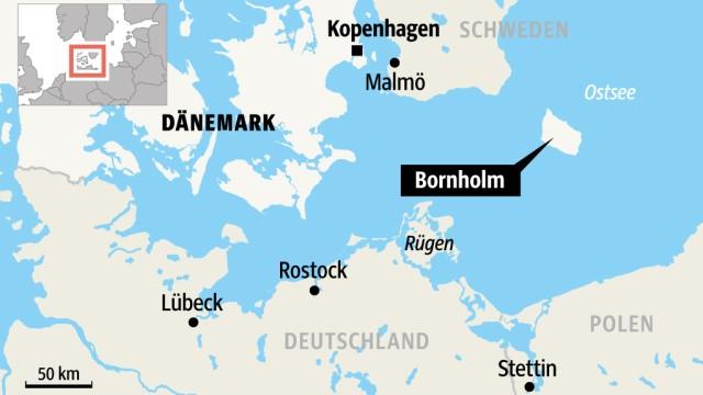 Dänemark: SZ-Karte