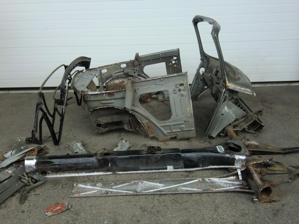 Memminger VW Käfer 1303 Cabrio: Vor der Restauration