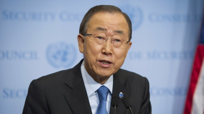 Nach Atomtest: UN-Generalsekretär Ban Ki Moon