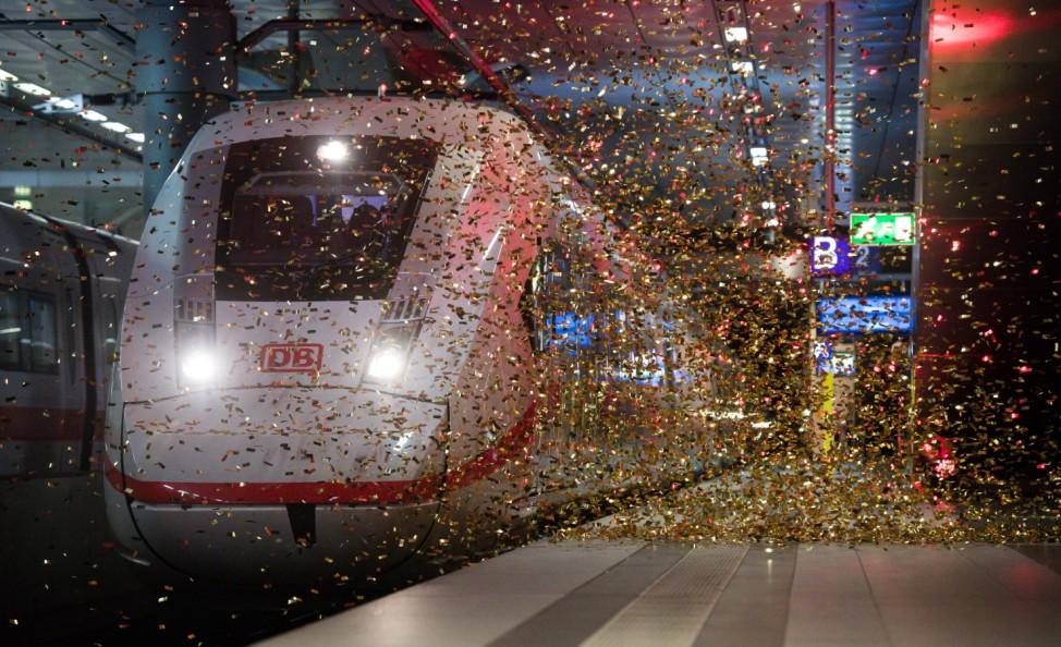Vorstellung des neuen ICE 4 der Deutschen Bahn
