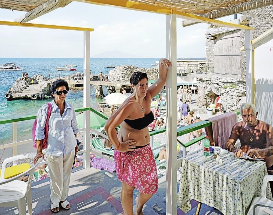 Bagni di Tiberio, Capri, Capreae, Italien, 2009