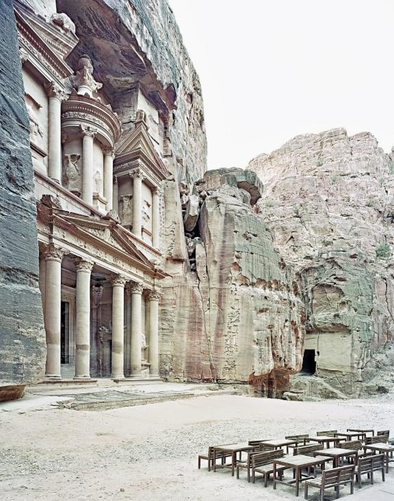 Al-Khazneh, Petra, Jordanien, 2009