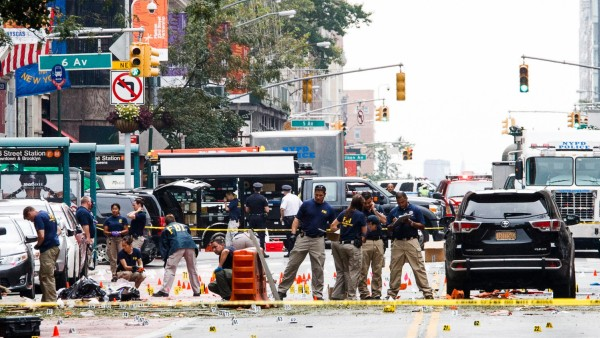 Expolsion Aftermath in New York