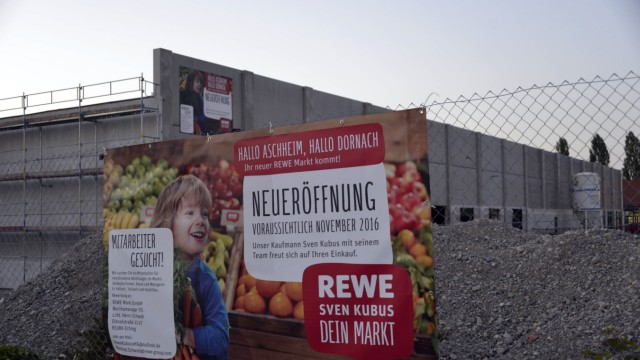 Aschheim: Es rührt sich was im 340 000 Quadratmeter großen Gewerbegebiet Dornach.