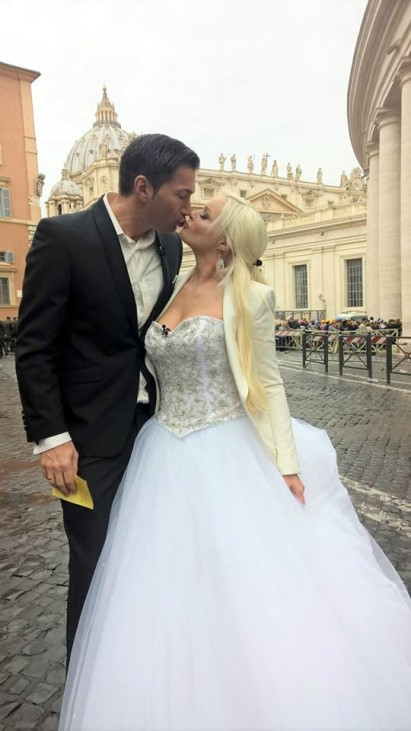Daniela Katzenberger in Rom