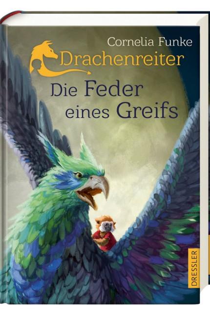 """Der neue ´Drachenreiter"""": ´Die Feder eines Greifs"""" von Cornelia Funke"""