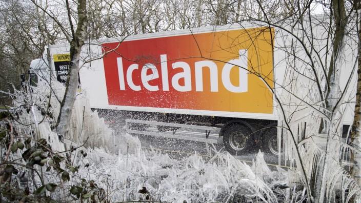 """Markenrecht: Die Supermarktkette """"Iceland"""" sicherte sich den Markennamen."""