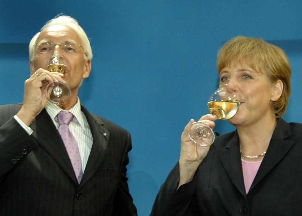 60 Jahre CDU - Merkel und Stoiber