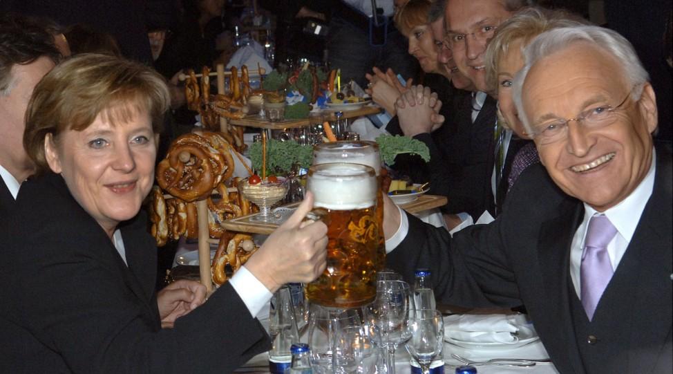 60 Jahre CSU - Feier mit Kanzlerin Merkel