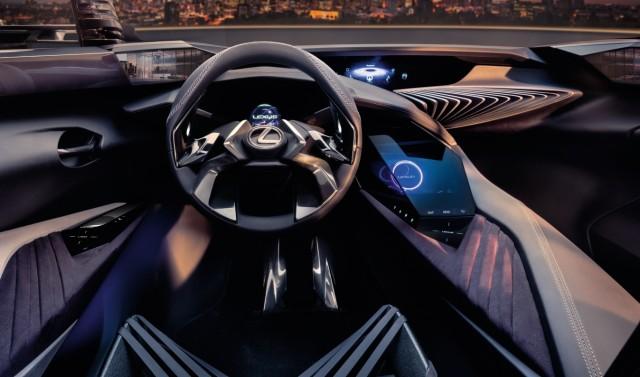 Das Cockpit der Studie Lexus UX Concept.