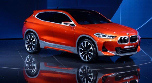 BMW Concept X2 auf dem Pariser Autosalon 2016.
