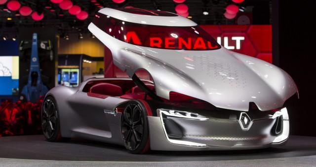 Konzeptstudie Renault Trezor auf dem Pariser Autosalon 2016.