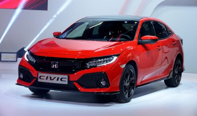 Honda Civic auf dem Pariser Autosalon 2016