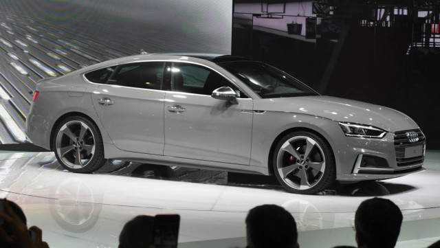 Audi S5 Sportback auf dem Pariser Autosalon 2016.
