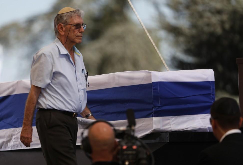 Funeral of former Israeli President Shimon Peres at the Mount Herzl