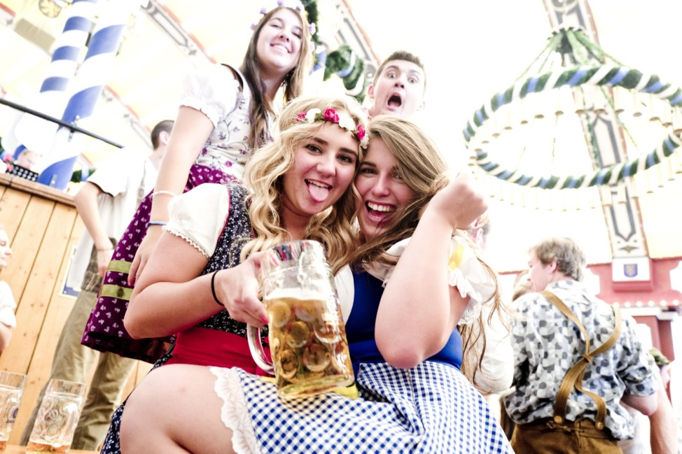 München:  Oktoberfest - Wiesn / Impressionen